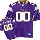 Custom Minnesota Vikings Purple Jersey