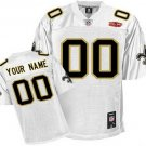 Custom New Orleans Saints White Jersey