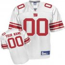 Custom New York Giants White Jersey