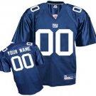 Custom New York Giants Blue Jersey