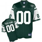 Custom New York Jets Green Jersey