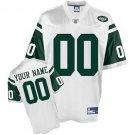 Custom New York Jets White Jersey