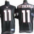 Larry Fitzgerald #11 Black Arizona Cardinals Men's Jersey