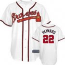 Jason Heyward #22 White Atlanta Braves Men's Jersey