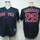 Adrian Gonzalez #28 Blue Boston Red Sox Men's Jersey