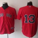 Carl Crawford #13 Red Boston Red Sox Men's Jersey