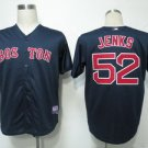 Bobby Jenks #52 Blue Boston Red Sox Men's Jersey