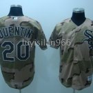 Carlos Quentin #20 Camo Chicago White Sox Men's Jersey