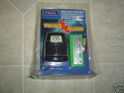 Nikko Twist N Turn 7.2V Compact Battery Pack and Charger