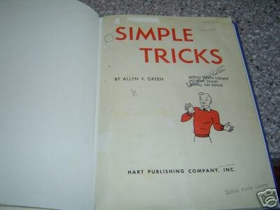 Simple Tricks by Allen V Green