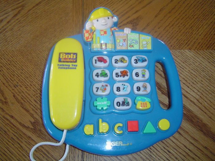Bob The Builder Talking Telephone