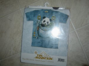 The Mountain Hand Dyed T-Shirt Panda Bear