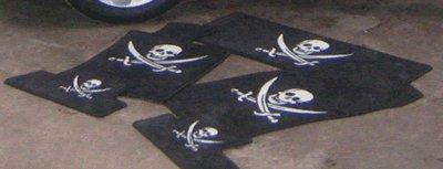 Mat Set for US Mini - Jolly Roger