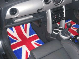 Mat Set For Us Mini Union Jack