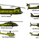 ULTIMATE Helicopter DVD: 269 manuals, UH, CH, AH, OH, EH models (80,000 pages)