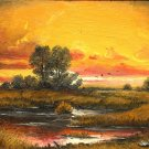Sunset in Delta