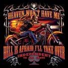 Demon Rider Biker Shirt small
