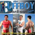 BUFFBOY  WORKOUT  show  seas.2 #4  lycra singlet tights