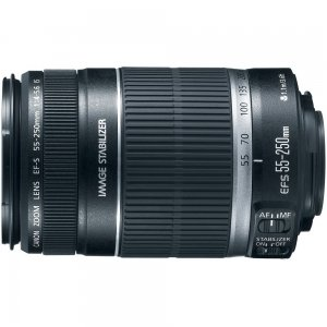 Brand New Canon EF-S IS 55-250mm F/4.0-5.6 IS II Telephoto Zoom Lens