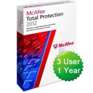 NEW McAfee Total Protection 2012 for 3 PCs