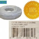Brand: PTC , Genuine PTC 100 FT CAT5e Certifed Solid Core Etherent RJ-45 Cable