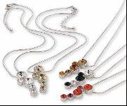 Swarovski Crystal Necklace Pendant �WATERFALL�