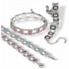 "Swarovski Crystal Bracelet ""INKA"""