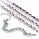 """Swarovski Crystal Bracelet """"TERRAPIN"""""""