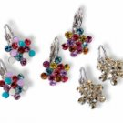 Swarovski Crystal Earrings : 'FLORA' Clasp