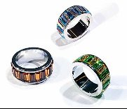"Swarovski Crystal Ring ""MEMORY"""