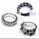 "Swarovski Crystal Ring ""PETITE"""