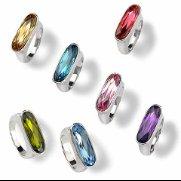 "Swarovski Crystal Ring ""REGALIA"""