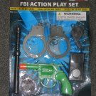 FBI action play set