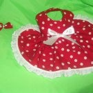 Minnie Mouse dog dress clothes custom made s / xs