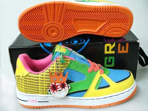 Greedy Genius Phantom King of Sneakers