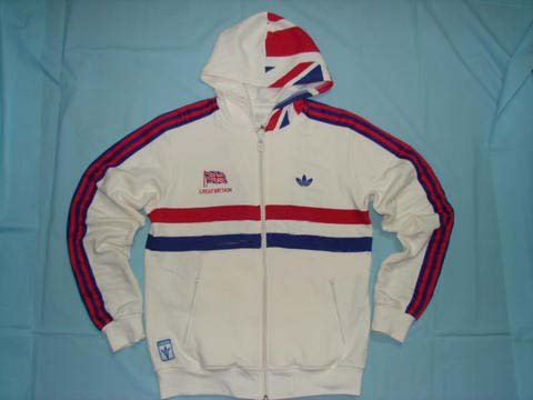 Adidas Hooded Track Jacket Great Britian