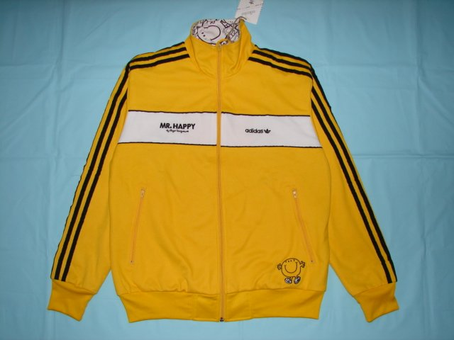 Adidas Track Jacket Mr Happy