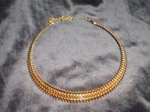 Avon Goldtone  Collar Necklace