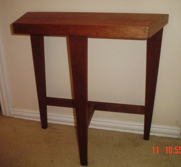 SOLD Antique Arts & Craft Style small Hall Table