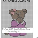 Adorable Praying Bear **Crochet, Knit Afghan Pattern**