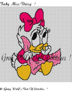 Baby Miss Daisy **Crochet , Knit Afghan Patterns**