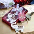 Majestic elephant key chains