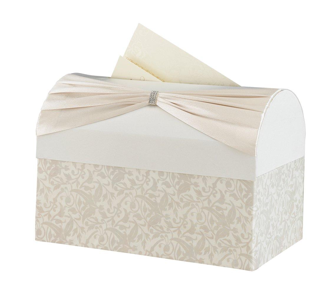 Lillian Rose Card Box ~ Ivory