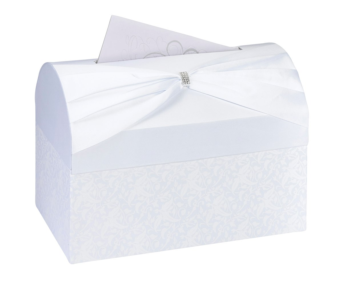 Lillian Rose Card Box ~ White