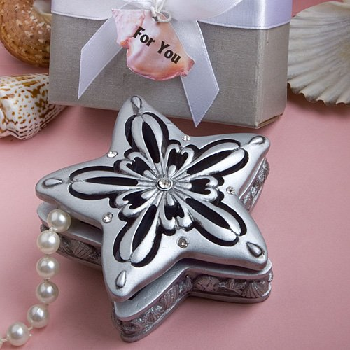 Sea star design trinket box