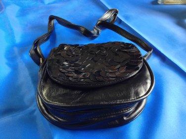 Asos Ladies Evening Shoulder Bag Handbag ~ Black