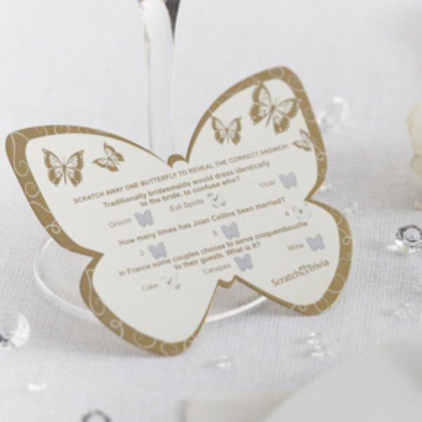 Elegant Butterfly - Scratch Trivia - Gold