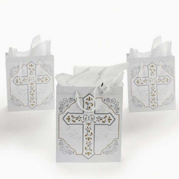 Religious Cross Gift Bags