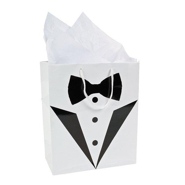 Wedding Tux Gift Bag