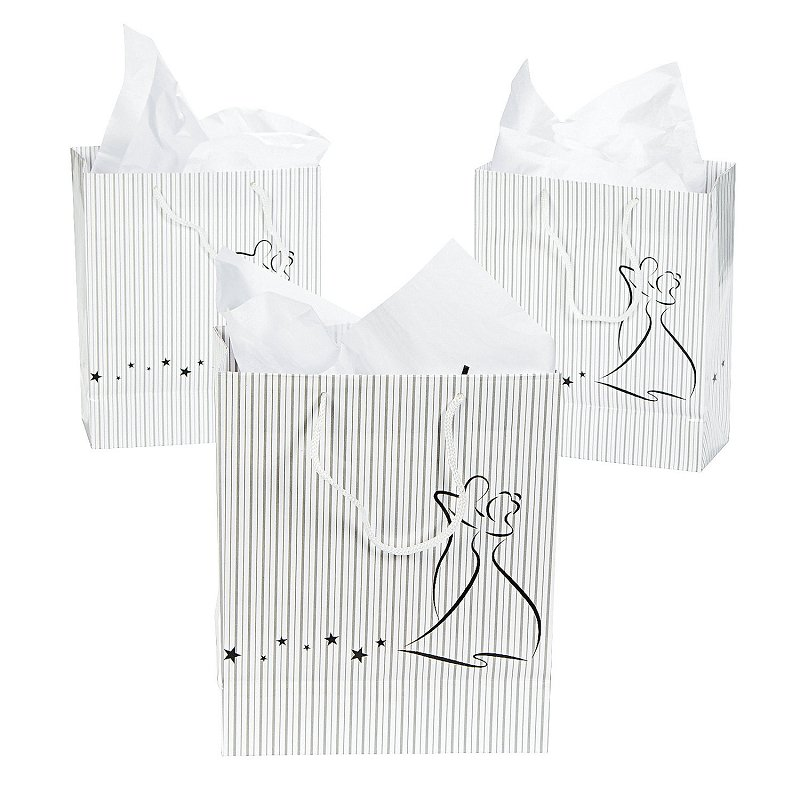 Dancing Couple Gift Bag